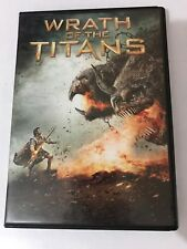 WRATH OF THE TITANS Dvd 2012 Widescreen Canadian