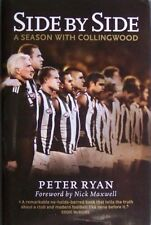 SIDE BY SIDE- A SEASON WITH COLLINGWOOD- PETER RYAN 2009- HC/DJ-