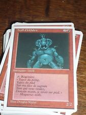 MTG Magic Gathering TROLL D'UTHDEN 4th ed French RARE top condition