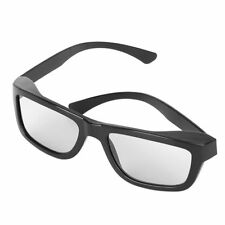 Circular Polarized Passive 3D Glasses Stereo Black For 3D TV Real D IMAX Cinemas