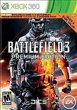 Battlefield 3 -- Premium Edition (Microsoft Xbox 360, 2012)VG