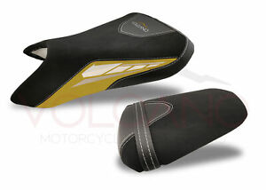 Fit Yamaha Yzf R6 2003-2004 Volcano Design Seat Cover Yellow Y049Cc161