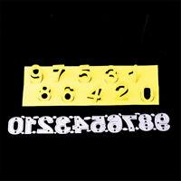 Number 0-9 Framed Cutting Dies Stencil Scrapbook Paper Cards Craft  DIY BBCA