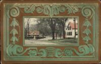 Town View - Norwich NY Cancel - Unusual Style c1910 Postcard