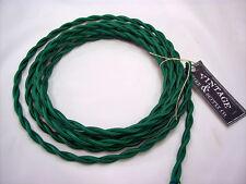 Green Rayon Twisted Wire Lamp Cord Pendant Light-Steampunk Lamp Retro Cord