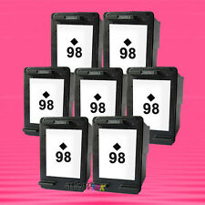 7 Non-OEM Alternative Ink Cartridge for HP 98 Black C4110 8050