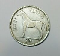 IRELAND: IRISH SILVER  HALF CROWN  1939. FREE SHIPPING