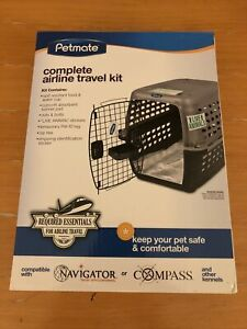 Petmate Complete Airline Travel Kit Keep Pets Safe & Comfortable