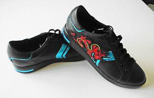 Geox Respira Leder Sneaker schwarz gr.39 Neu
