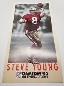 Steve Young Game Day 93 NFL Small Promo Poster