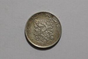 BRAZIL 2000 REIS 1932 SILVER B35 #Z7040