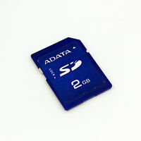 Adata 2GB SD Memory Card Non HC, SD Card 2G For Old Camera /Recorder/ GPS