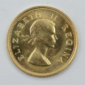 1953 South Africa Gold 1/2 Pound *4071