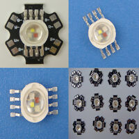10/20/50/100pcs 4W/12W high power RGBW red green blue white led bead Lamp light