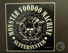 MONSTER VOODOO MACHINE autocollant RARE promo sticker SUFFERSYSTEM Heavy metal