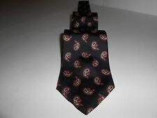 100% Imported Silk Necktie, Preferred Stock, Made in U.S.A. , 56 plus in. long
