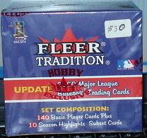 Fleer Tradition MLB Update set 2000