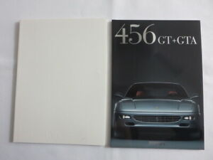 Ferrari 456 GT and GTA Sales Brochure Catalog