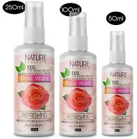 Organic Pure Rose Water 50ml, 100ml. 250ml