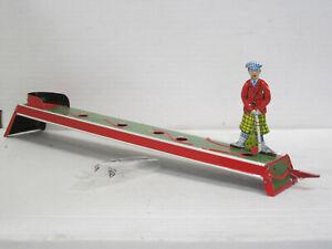 Golf-Spieler mit Golfbahn, Blech, Länge ca. 32 cm, OVP