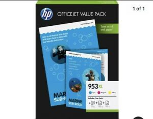 953XL Officejet Value Pack A4 AND INK CMY PACK 1CC21AE
