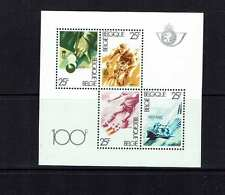 Belgium 1982 Sports, Snooker, cycling, football, sailing, miniature sheet, MNH