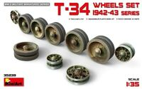 Miniart 1:35 T-34 1942-43 Series Wheels Set Model Kit