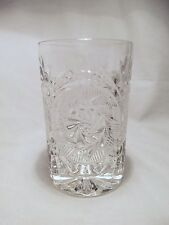 *NEW* Set of 8 vintage FOSTORIA glass STOWE CLEAR hiball GLASSES