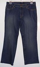 EUC IZOD Jeans Dark Wash Stretch Bootcut Jeans Size 12 Petite