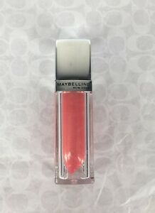 NEW Maybelline Color Elixir Lip Gloss in Pearlescent Peach #520 ColorSensational
