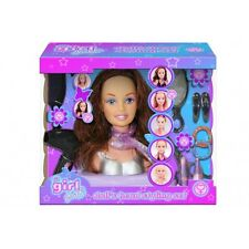 Its Girl Stuff Styling Doll Head Accessories  NEW PACKAGING!