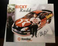 RICKY RUDD -NASCAR AUTOGRAPH PROMO PHOTOGRAPH!  FF366DSH2