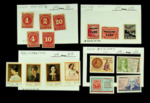 CHILE INT'L YEAR OF WOMEN NUMERALS 16v 3v W/ OVPT MINT STAMPS CV $16