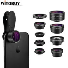 9 in1 Professional Phone Camera Lens Kit Clip On for iPhone SAMSUNG Smartphone