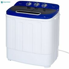 Washing Machine Cleaner and Dryer Combo Portable 13 lbs Laundry Compact Mini