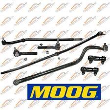 Moog Steering Rebuilt Kit Front Drag Link Track Bar For 2000-2002 Ram 4x4