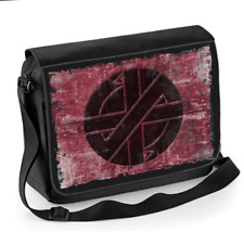 d6d51ada0b Crasse Punk Rock Rétro Iconique Logo-Unisexe Messenger sac d'épaule
