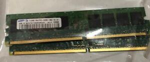 2 X 512MB SAMSUNG RAM MEMORY PC2 3200U 1RX8 PC2-3200U-333-10-A
