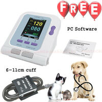 AnimalVeterinary full digital blood pressure monitor,6-11cm cuff,usb pc software