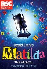 MATILDA THE MUSICAL theatre poster photograph 2 - quality glossy A4 print