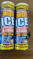 900g Ice Melt Granules For Paths, Steps, driveways. Melts ice, frost & snow fast