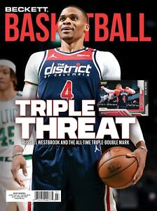 New JULY 2021 Beckett BASKETBALL Card Price Guide Magazine w/ WESTBROOK 6021005