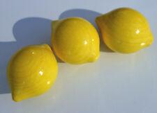 HABA  3 Stück Zitrone 1352 aus Holz für HABA Kaufladen + BONUS