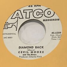CECIL MOORE Diamond Black / Rise and Shine ATCO Rockabilly Instro 45