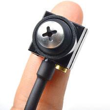 600 TVL Mini HD Spy Camera Hidden CCTV Home Security Camera Pinhole Cam With Mic