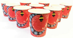 Red Moon & Lantern Ramadan, Eid Mubarak Party Paper Cups, Choose Your Own!