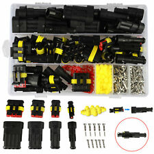 408pcs 33set Waterproof 1234 Pin Car Auto Electrical Wire Connector Plug Set