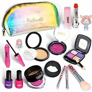 Pickwoo Kinderschminke Set Mädchen Pretend Makeup Set für Kinder NEU 2021
