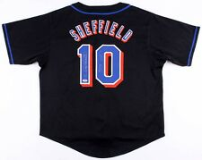 """Gary Sheffield Signed Mets Jersey Inscribed """"509 HR'S"""" (PSA COA)"""