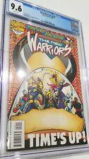New Warriors # 50 CGC 9.6 1994 Maximum Carnage Genesis SNES On Back. Marvel